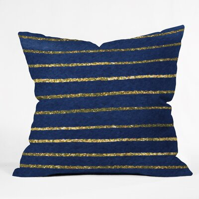 Estes Nautical Sparkle Indoor Throw Pillow Size: Extra Large