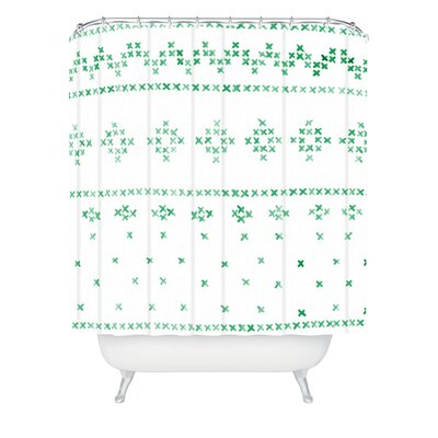 Kessinger Holiday Sweater Shower Curtain