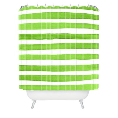 Kessinger Spruce Stripes Shower Curtain