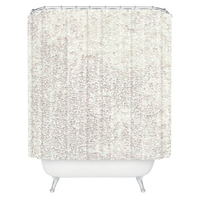 Brayden Studio Kessinger Snowballs Shower Curtain
