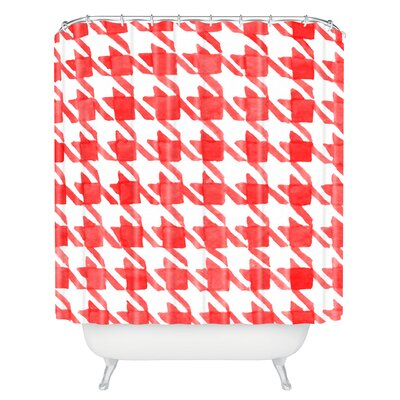 Kessinger Candy Houndstooth Shower Curtain