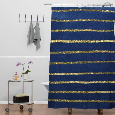 Kessinger Nautical Sparkle Shower Curtain