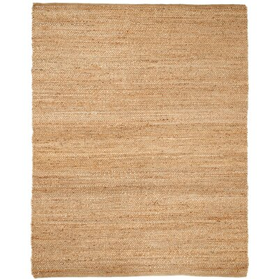 Cassander Hand-Woven Brown Area Rug Rug Size: 8 x 10