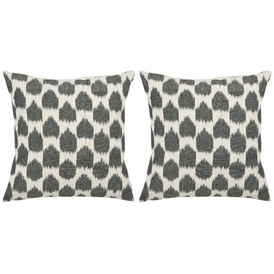 Isadore Cotton Throw Pillow Size: 22