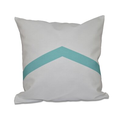 Down Throw Pillow Size: 26 H x 26 W, Color: Bahama