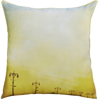 Mina Teslaru Boardwalk Sunset Throw Pillow Size: 18 H x 18 W x 2 D