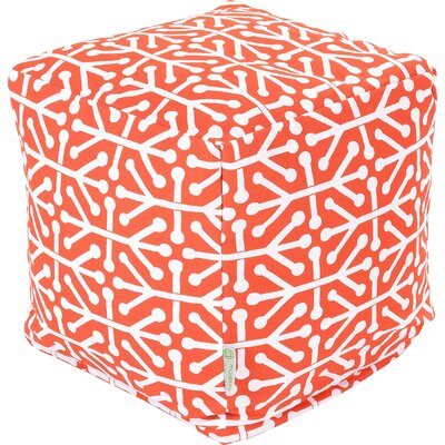 Nerys Ottoman Fabric: Orange