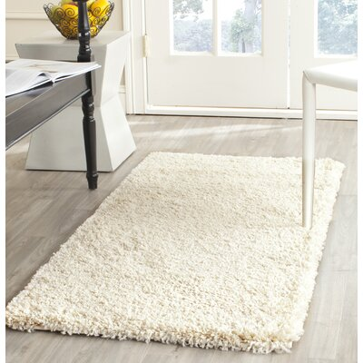 Yoan Ivory Area Rug Rug Size: Square 86