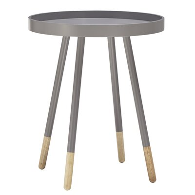 Fortney End Table Finish: Frost Grey
