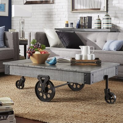 Zona Coffee Table Finish: Gray