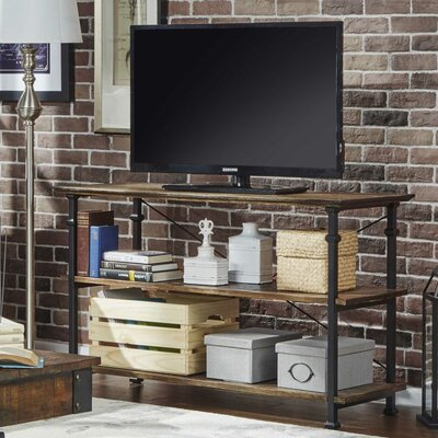 Zona 50 TV Stand Color: Brown
