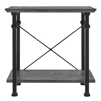 Zona End Table Color: Grey