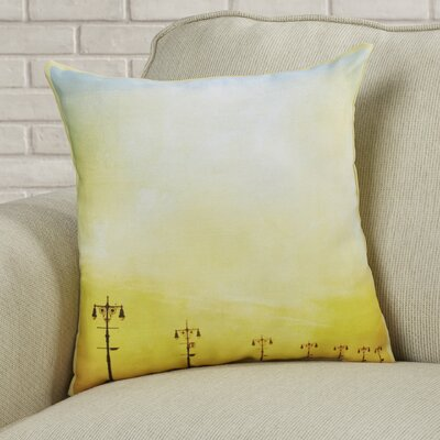 Sunset Throw Pillow Size: 16 H x 16 W x 2 D