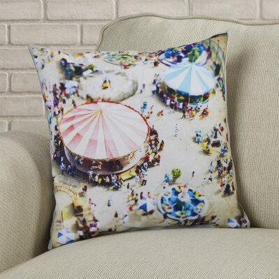 Carnivale Throw Pillow Size: 20 H x 20 W x 2 D