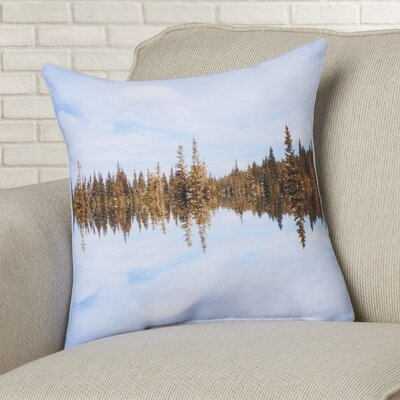 Ice Breakers Throw Pillow Size: 18 H x 18 W x 2 D