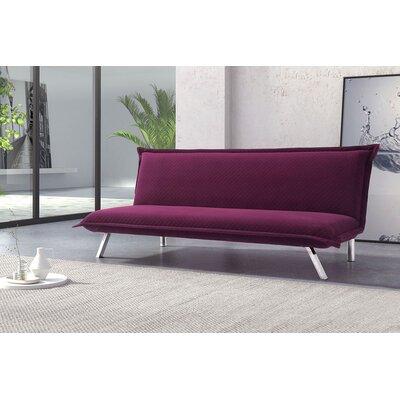 Varda Sleeper Sofa Frame Finish: Plum