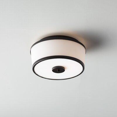 Camacho Modern 2-Light Flush Mount