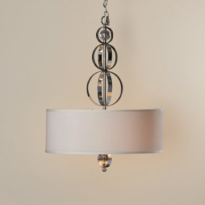 Nestori 3-Light Drum Pendant