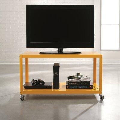 Taurus 36 TV Stand Color: Yellow Saffron