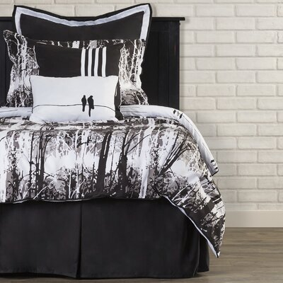 Landon Reversible Comforter Set Size: King