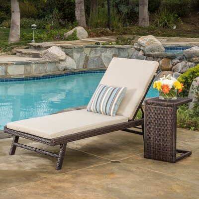 Kasia 4 Piece Chaise Lounge Set