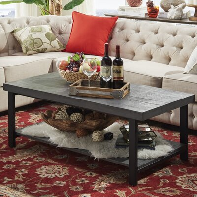 Leo Coffee Table Finish: Gray