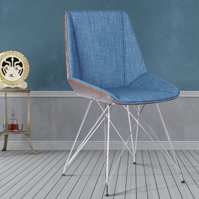 Mariah Chair Upholstery: Blue
