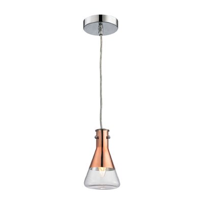 Hughey 1-Light Mini Pendant