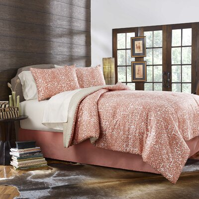 Olympias 3 Piece Reversible Duvet Cover Set Size: King