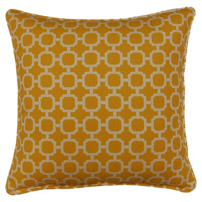 Tessa Corded Throw Pillow Color: Banana