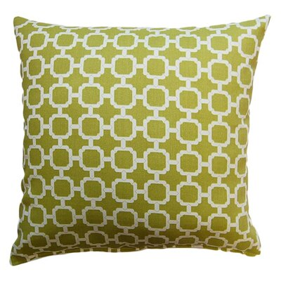 Tessa Corded Throw Pillow Color: Pear