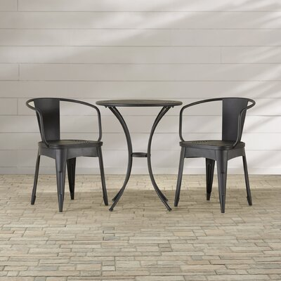 Yoan 3 Piece Dining Set