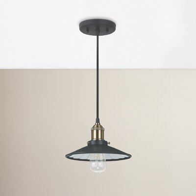 Abbas 1-Light Mini Pendant Size: 5 H x 8.5 W x 8.5 D