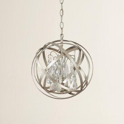 Dorota 3-Light Globe Pendant