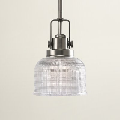Gotha 1-Light Mini Pendant Color: Antique Nickel