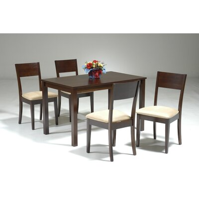 Mccullum 5 Piece Wood Dining Set