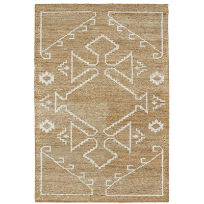 Aracely Handmade Copper / Ivory Area Rug Rug Size: Rectangle 96 x 13