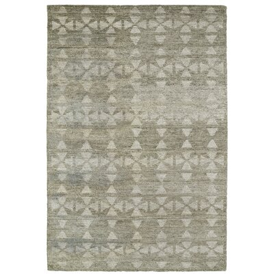 Aracely Handmade Oatmeal / Light Taupe Area Rug Rug Size: Rectangle 4 x 6