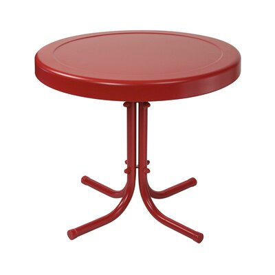 Timothea Side Table Finish: Coral Red