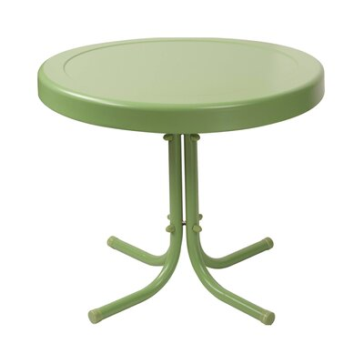 Timothea Side Table Finish: Oasis Green