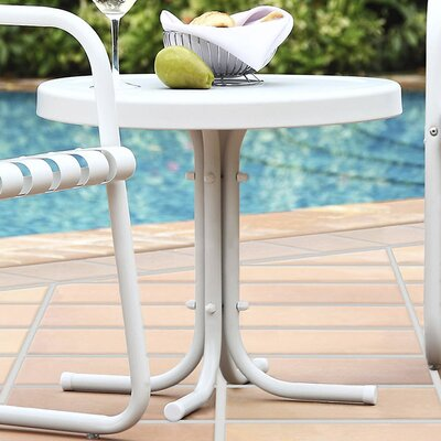 Timothea Side Table Finish: White