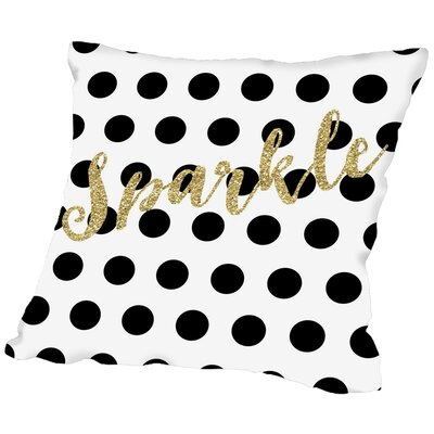 Hypoallergenic Throw Pillow Size: 16 H x 16 W x 2 D
