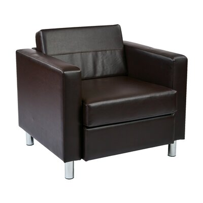 Desma Club Chair Upholstery: Espresso