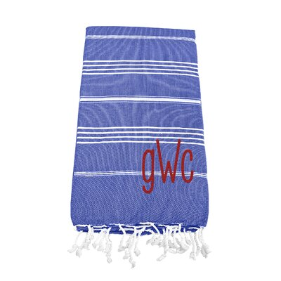 Prather Turkish Bath Towel Color: Dark Blue