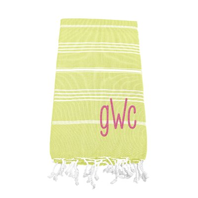 Prather Turkish Bath Towel Color: Pistachio Green