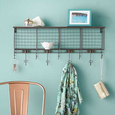 Hultgren Wall Mounted Coat Rack