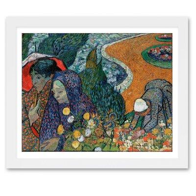 'Ladies of Arle' by Van Gogh Framed Painting Print Size: 17