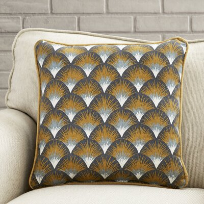 Latricia Cotton Throw Pillow Size: 16.5