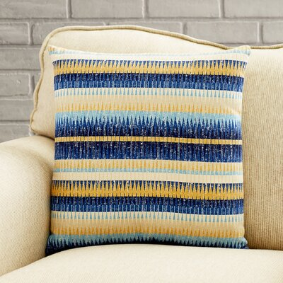 Sofia Satchel Throw Pillow Color: Cobalt