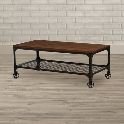 Corvus Rectangle Industrial Coffee Table